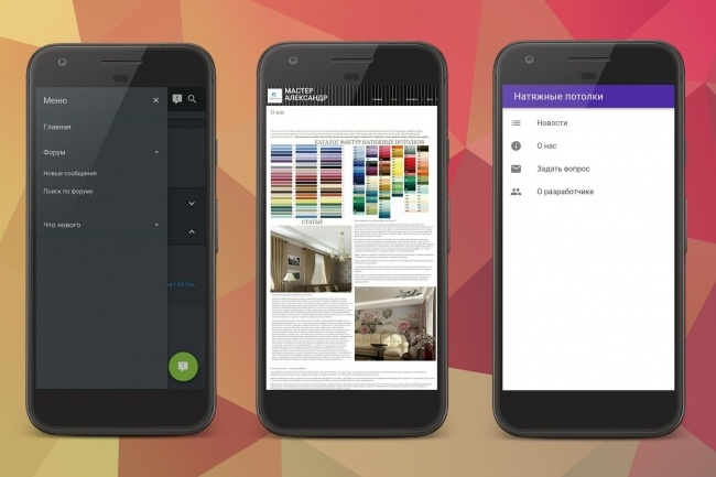 Конвертирую сайт в мобильное приложение 7 - kwork.ru
