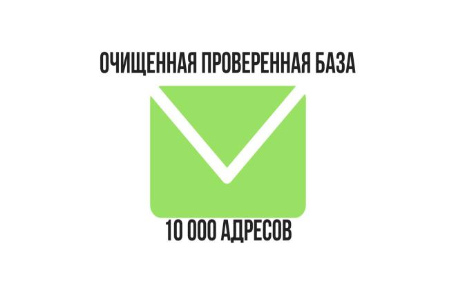 Очищенная проверенная база покупателей Glopart из 10000 адресов 1 - kwork.ru