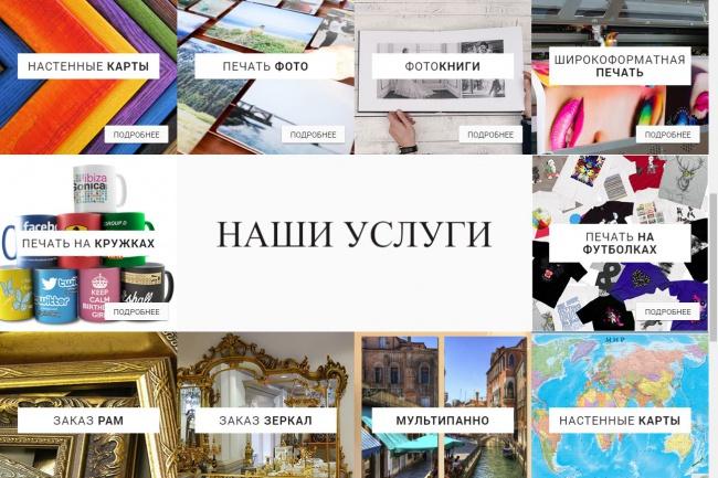 Семантическая, адаптивная, кроссбраузерная верстка 2 - kwork.ru