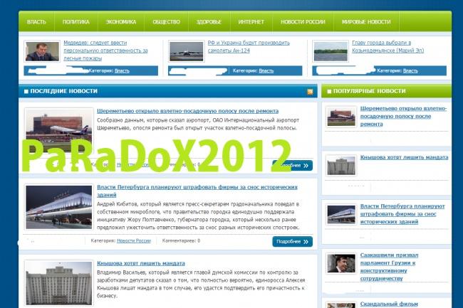 Готовый сайт СМИ и 350 новостей + бонус 1 - kwork.ru