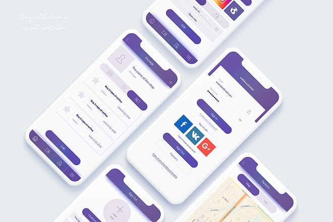 Дизайн Вашего приложения. iOS и Android 32 - kwork.ru