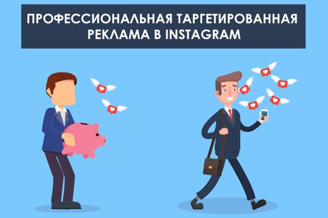 Таргетированная реклама в Instagram 1 - kwork.ru