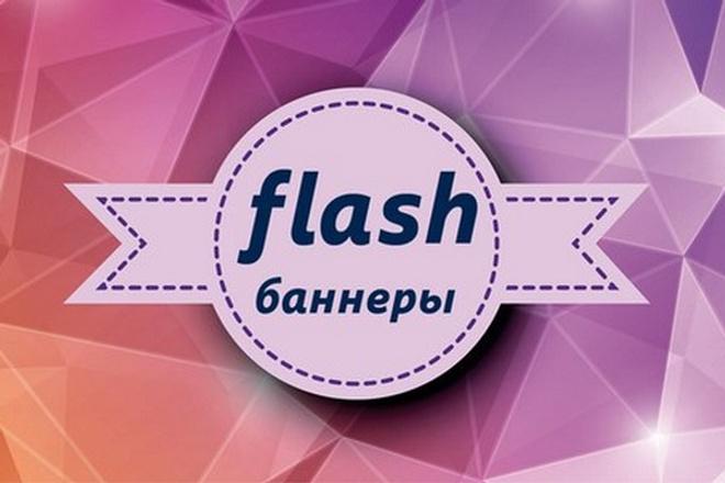 Отрисую  продающий Flash баннер 2 - kwork.ru