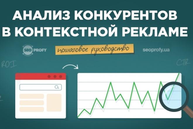 Анализ конкурентов и поисковые запросы+объявления конкурентов 1 - kwork.ru