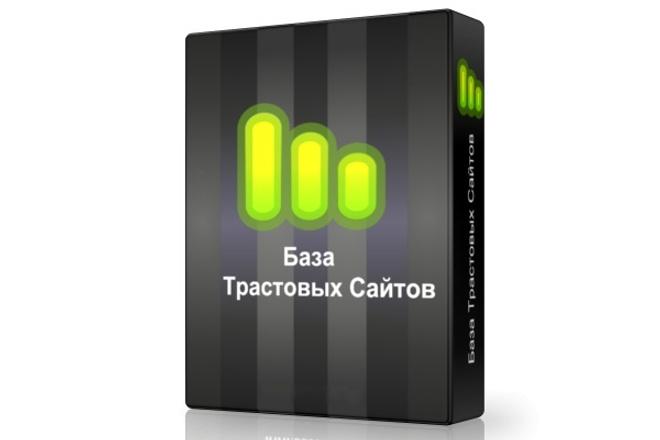 Свежая база трастовых сайтов 150 шт 1 - kwork.ru