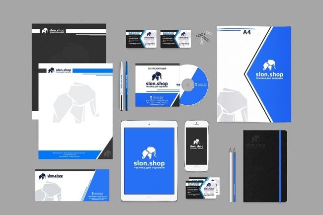 Создам фирменный стиль бланка 126 - kwork.ru