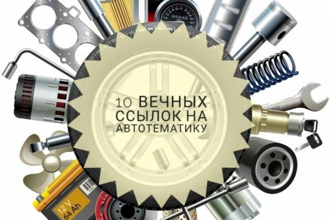 Крауд-ссылки - ручное размещение 10 ссылок на АВТО форумах 1 - kwork.ru