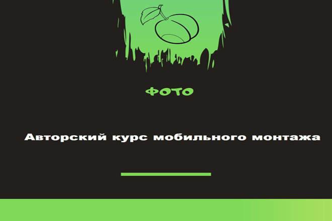 Видеокурс Авторский курс мобильного монтажа 1 - kwork.ru