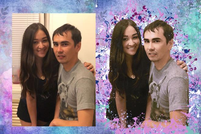 Фотомонтаж изображений 15 - kwork.ru