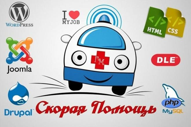 Wordpress - скорая помощь для ваших сайтов 1 - kwork.ru
