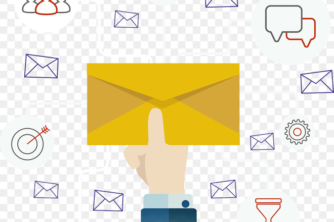 Массовая рассылка e-mail 1 - kwork.ru