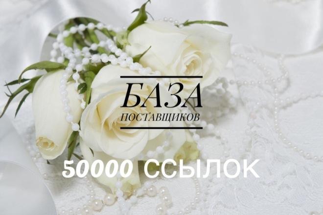 Продам базу поставщиков 50000 ссылок с обновлениями 1 - kwork.ru