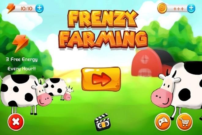 Исходник игры Frenzy Farming time management game kit. Unity 2 - kwork.ru