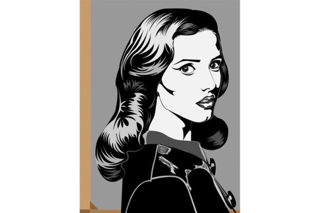 Black Art Портрет 5 - kwork.ru