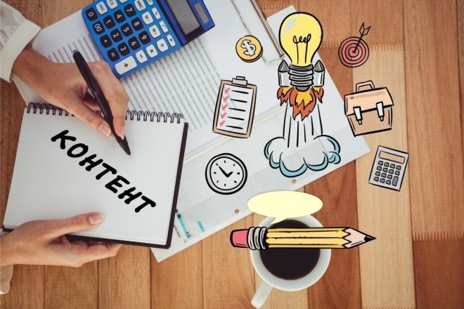 Контент план для инстаграм 1 - kwork.ru