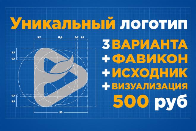 Логотип в 3 вариантах + исходники 14 - kwork.ru