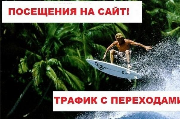 100-15000 посетителей на Ваш сайт по ключевому слову 1 - kwork.ru