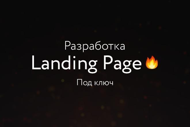 Разработаю продающий Landing Page под ключ на WordPress 13 - kwork.ru