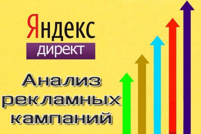 Анализ рекламных кампаний в Яндекс. Директ + техническое задание 1 - kwork.ru