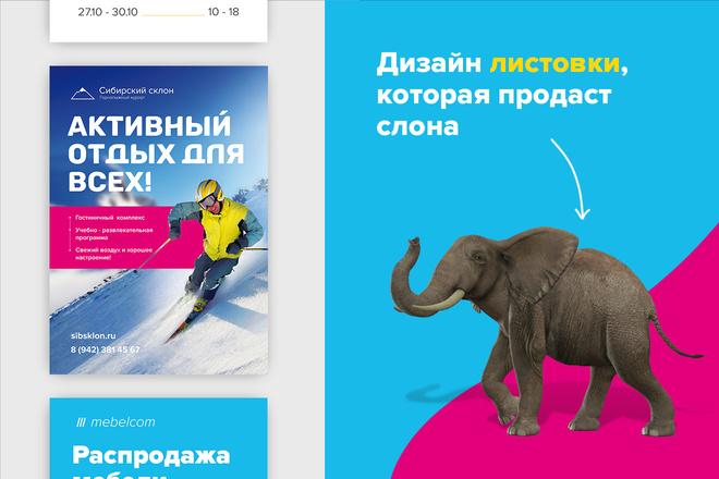 Сделаю продающую листовку с большой конверсией 5 - kwork.ru