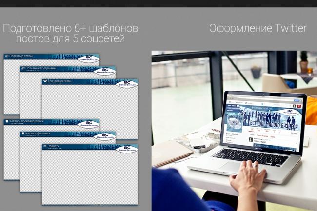 Оформлю вашу группу или страницу в Facebook 5 - kwork.ru