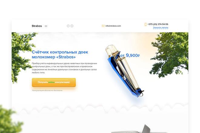 Дизайн блока сайта 37 - kwork.ru