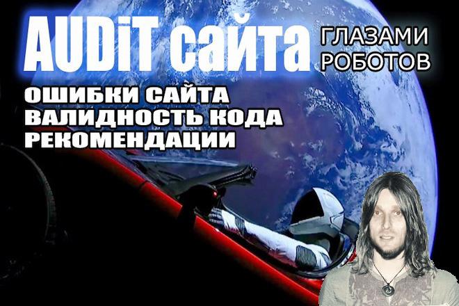 Аудит сайта глазами роботов 1 - kwork.ru