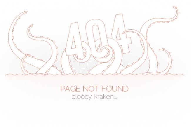 Создам красивую страницу ошибки 404 для сайта 5 - kwork.ru