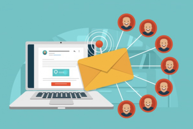 Вручную разошлю письма на e-mail адреса по вашей базе 1 - kwork.ru
