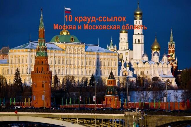 Ручное размещение 10 ссылок на форумах Москвы и Московской области 1 - kwork.ru