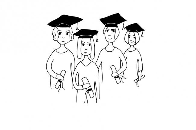Нарисую любую иллюстрацию в стиле doodle 36 - kwork.ru