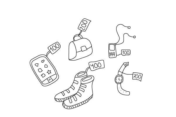 Нарисую любую иллюстрацию в стиле doodle 37 - kwork.ru