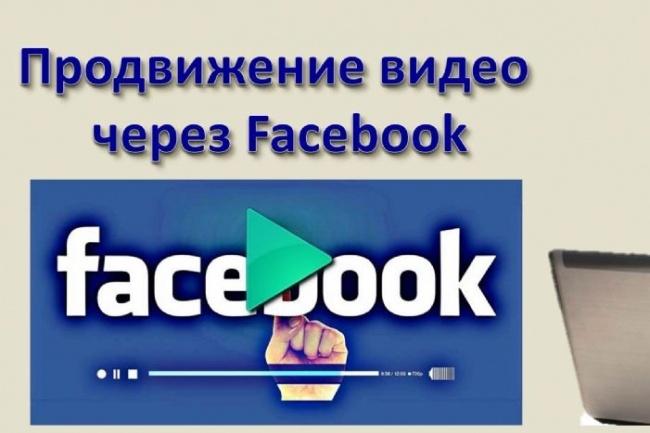 Посев видео в Facebook 1 - kwork.ru