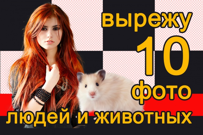 Вырежу 10 фотографий людей или животных 8 - kwork.ru