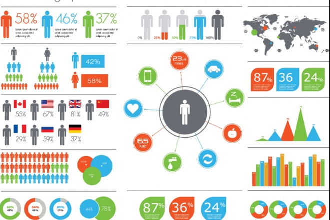 Инфографика шаблоны 8 - kwork.ru