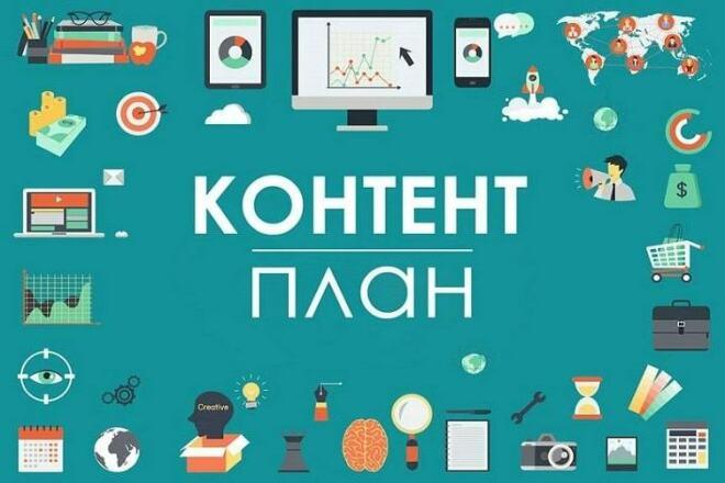 Контент-план для Инстаграм, план и посты 1 - kwork.ru