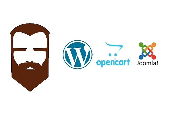 Установка Wordpress, Opencart, Joomla + free хостинг 1 - kwork.ru