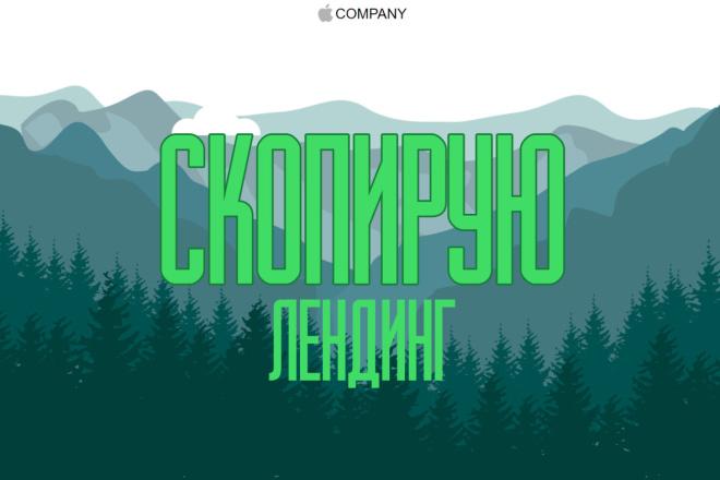 Сделаю копию лендинг пейдж на Textolite 13 - kwork.ru
