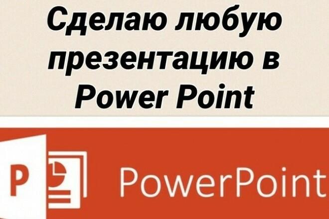 Создам презентацию в программе Powerpoint 1 - kwork.ru