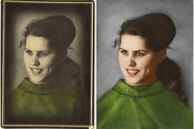 Новая жизнь старым снимкам. Реставрация фотографий любой сложности 7 - kwork.ru