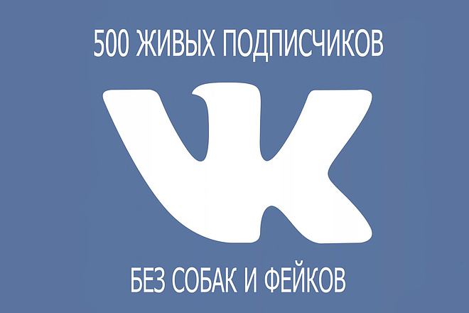 Раскручу сообщество или страницу во Вконтакте. 500 живых подписчиков 1 - kwork.ru