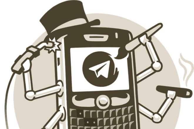 Разработка ботов Telegram и Facebook по новой технологии 1 - kwork.ru