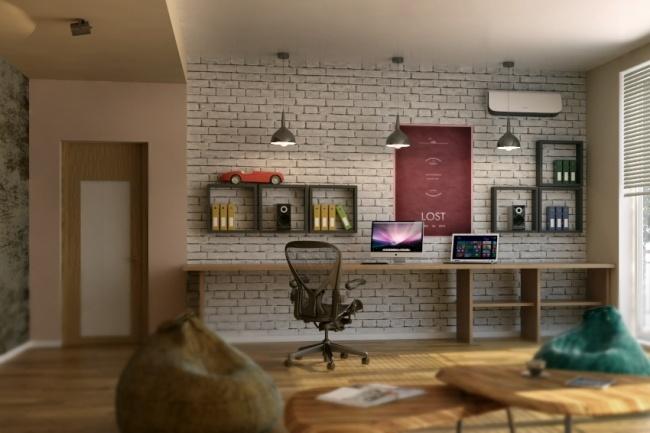 Создам 3d визуализацию интерьера в 3ds max, по ТЗ 8 - kwork.ru