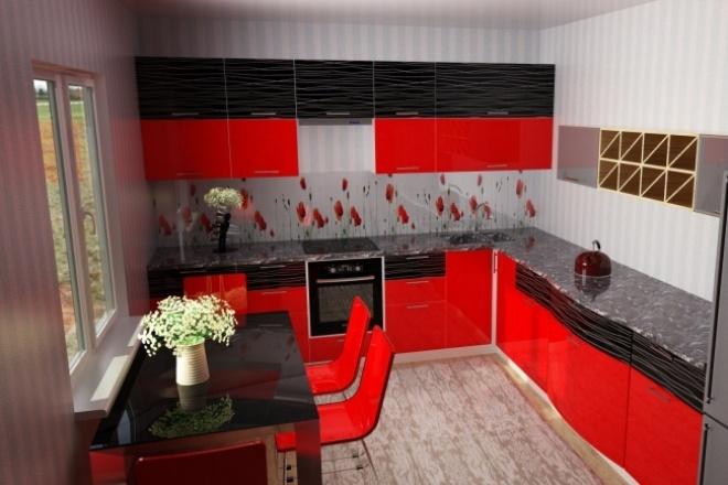 Создам визуализацию интерьера высокого качества 2 - kwork.ru
