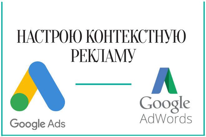 Настрою контекстную рекламу Google. Под ключ 1 - kwork.ru