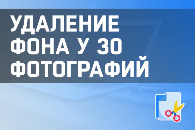 Удаление фона у 30 фотографий 16 - kwork.ru