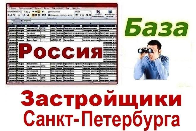 База застройщиков Санкт-Петербурга 1 - kwork.ru