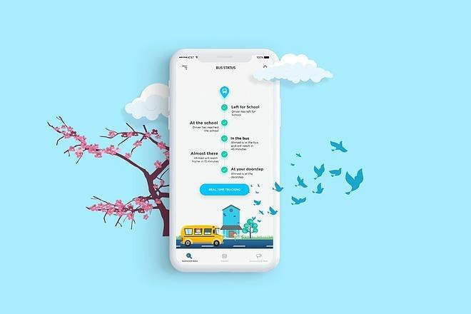UI UX Дизайн экрана iOS или Android приложения 4 - kwork.ru