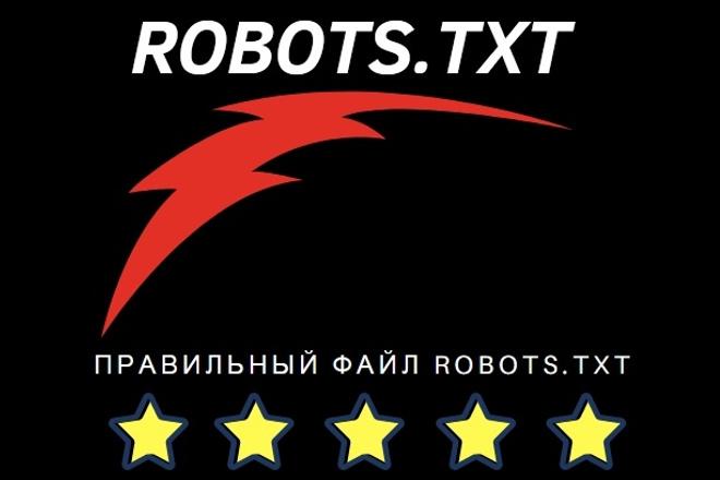 Создание robots.TXT для вашего сайта 1 - kwork.ru