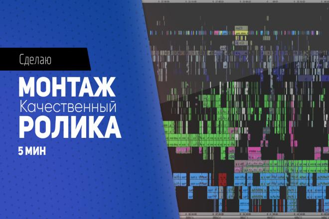 Сделаю Монтаж вашего ролика 1 - kwork.ru